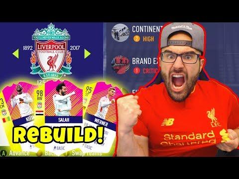 LIVERPOOL REBUILD! INSANE $100,000,000 TRANSFERS! - FIFA 18 Career Mode
