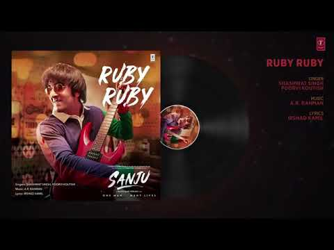 Sanu Latest Song Ruby Ruby