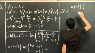 Eigenvalues And Eigenvectors | MIT 18.06SC Linear Algebra, Fall 2011