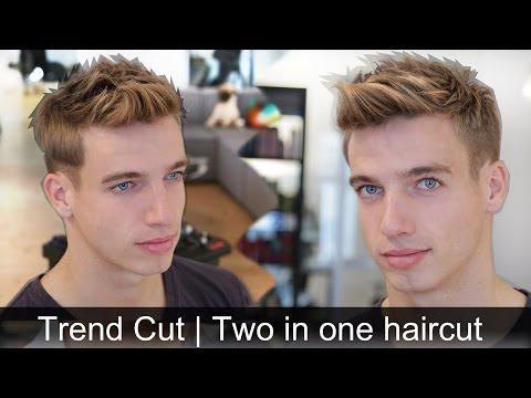 Men's Trendy Hair Tutorial | 2 Hairstyles In 1 Haircut | By Vilain Sidekick & Gold Digger