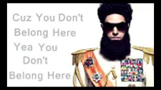 Nonton The Dictator   Aladeen Motherfucker English Lyrics Film Subtitle Indonesia Streaming Movie Download