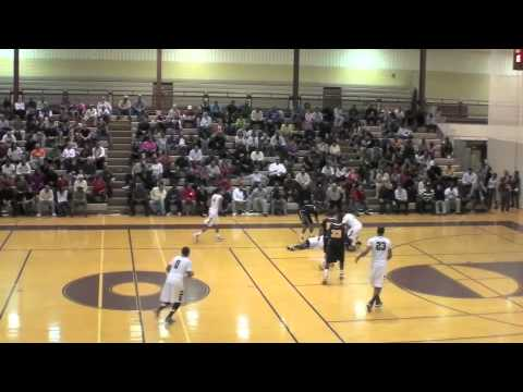 Wes Clark Highlights Romulus Basketball 2010-11