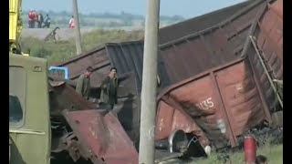 Крушение поезда на перегоне Сарата-Арциз