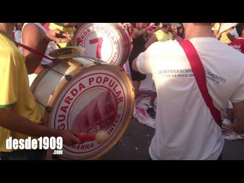 Inauguração estatua do Fernandão - Seremos Campeões - Guarda Popular do Inter - Internacional