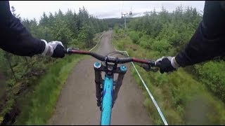 Downhill Through Scottish Highlands - I Am Out Of Breath Just Watching That!