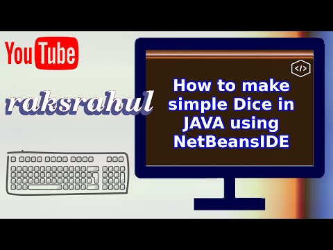 How to make simple Dice in JAVA using NetBeansIDE