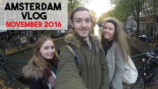 The first of a two-part vlog from my trip to Amsterdam and Rome from November 2016. In Amsterdam we explored the city, visited the museums and delved into the icebar. The vlog from my second trip to Amsterdam is already up on my channel.I post lots of travel vlogs like this - subscribe if you like!