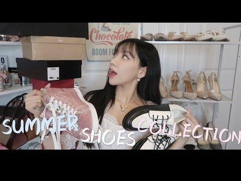 夏日全部爱鞋大公开 小白鞋哪家强?hermes拖鞋怎么选??| Summer Shoes Collection 2018|Hermes Chanel Dior