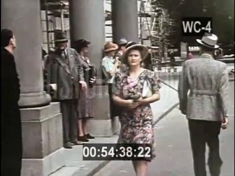 1938: Warsaw 1938 in Color Kolorowa Warszawa 1938 u ...