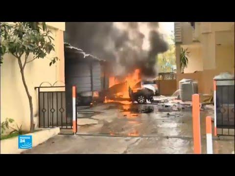 العرب اليوم - شاهد: إصابة محمد حمدان بجروح خطيرة