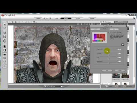 CrazyTalk6 Tutorial – Custom Facial Features: Mouth