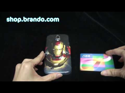 Iron Man 3 Case for Samsung Galaxy S4