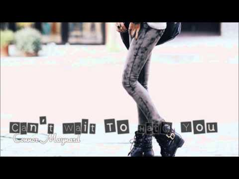 Tekst piosenki Conor Maynard - Can't Wait To Hate You (cover) po polsku