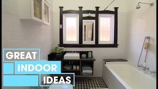 Modern Budget Bathroom Makeover | Indoor | Great Home Ideas