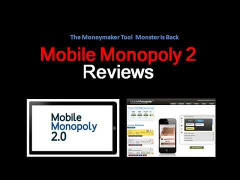 Mobile marketing software Mobile Monopoly 2.0 reviews