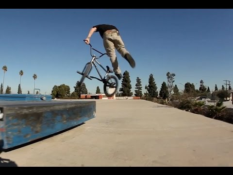 Sean - While in Los Angeles wrapping up filming for Stranger's new DVD, No Hype, and working on an interview for the March/April issue of RideBMX, Sean Ricany started the day off with a quick session...