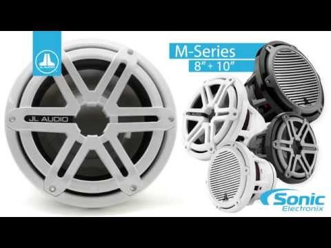 JL Audio M And MX Marine Subwoofers  |  Product Overview