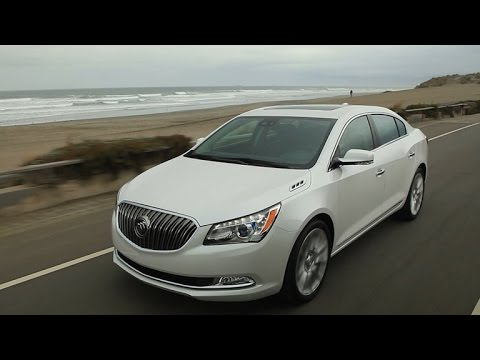 Lacrosse - http://cnet.co/1ny2X9Q With a big, comfy cabin and a built-in 4G WiFi hotspot, the Buick LaCrosse makes for a modern, mobile office.