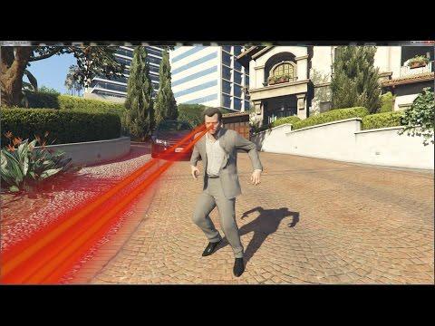 《俠盜獵車手V》麥克變身超人模組!刀槍不入兩眼噴射激光!