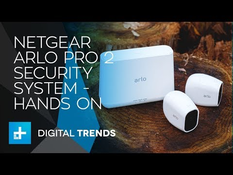 Netgear Arlo Pro 2 Wireless Smart Home Security System - Hands On Review