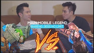 Video PRESIDEN JOMBLO main mobile legend di backup Jess no limit !! ANTI MATI !!! MP3, 3GP, MP4, WEBM, AVI, FLV November 2018