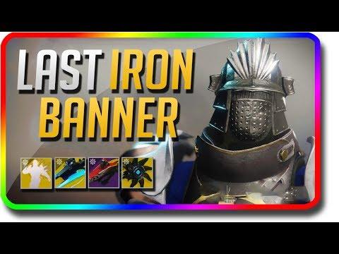 Destiny 2 - Last Season 3 Iron Banner (August 14 Weekly Reset, Powerful Gear, 400 Power Armor)