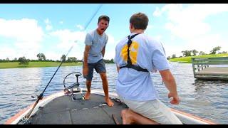 Video He Lost a Giant Bass... -- Texas Fishing VLOG no. 4 MP3, 3GP, MP4, WEBM, AVI, FLV Agustus 2018