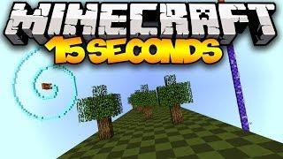 Minecraft: 15 SECONDS! (Sethbling's 15 Seconds Parkour Challenge)