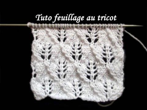il punto spiga di grano lavorato a maglia