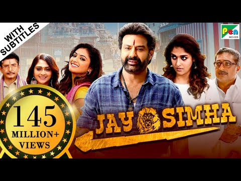 Jay Simha (2019) New Released Action Hindi Dubbed Movie | Nandamuri Balakrishna, Nayanthara
