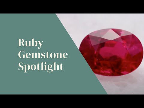 Ruby Gemstone Spotlight