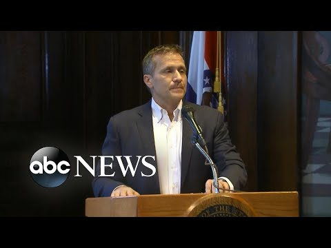 Embattled Missouri Gov. Eric Greitens resigns from office