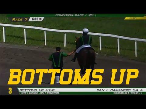 BOTTOMS UP - PRCI Race 7 - January 03, 2020 - BAYANG KARERISTA Horse Racing - Race Replay