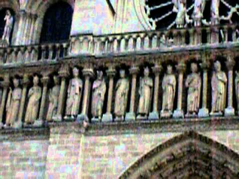 Notre Dame Cathedral Detail (March 2011)