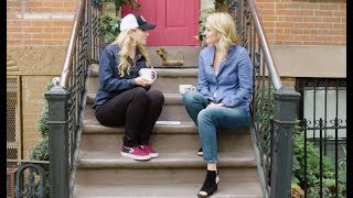 Talk Stoop Taxi Take: The actress, comedian, and producer talks about her second season of Nightcap and gives Cat some competition on the stoop.