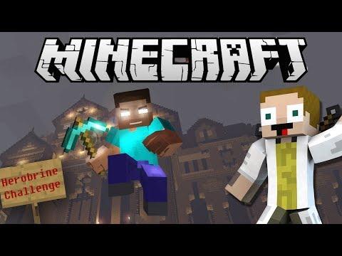 [GEJMR] Minecraft - Herobrine Challenge s Jirkou