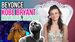 Video Vocal Coach Reacts to Beyonce Kobe Bryant Memorial Service download in MP3, 3GP, MP4, WEBM, AVI, FLV January 2017