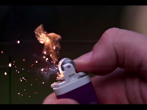 explosion - Have you ever seen a lighter start up in super slow motion? Or how about a lighter FLINT EXPLOSION in slow mo? Enjoy... Find us on facebook: https://www.facebook.com/SlowMotionLab Subscribe:...