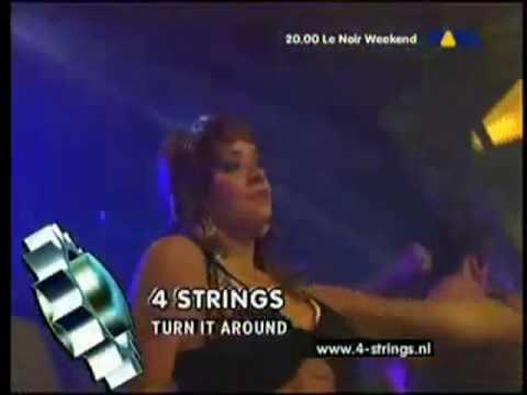 4 Strings Feat. Vanessa Van Hemert  _ Turn It Around - LIVE