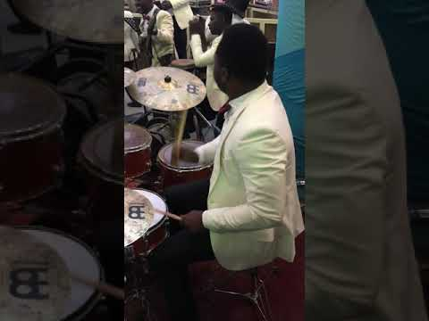 Shaba segun playing at the apostolic church centenary convention