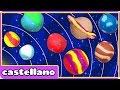 Como Hacer Planetas de Plastilina - Play Doh Planets by