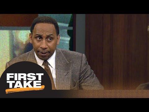Stephen A. Smith would trade Lonzo Ball for Kawhi Leonard  First Take  ESPN