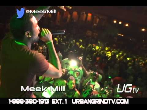 On Stage at the  Meek Mills Concert in Chicago on Urban Grind TV