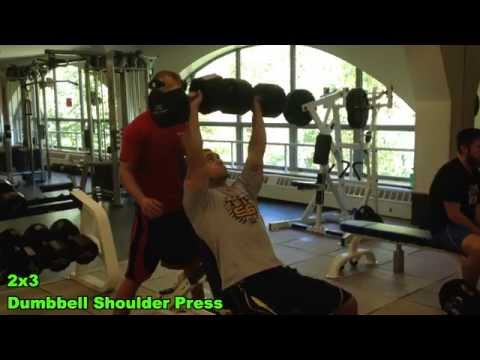 Heavy Shoulders/Arms Workout – Strength Training