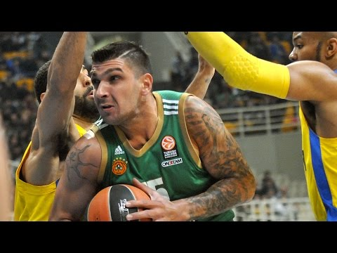 Highlights: Panathinaikos Athens-Maccabi Electra Tel Aviv