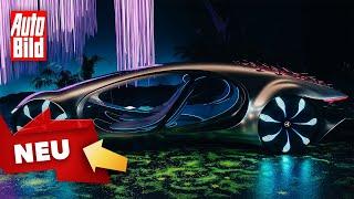 Mercedes Vision AVTR (2020): Neuvorstellung - Studie - Design - Technik by Auto Bild