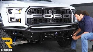 How to Install ADD Stealth Front Bumper on a 2017 Ford Raptor at RealTruck.com