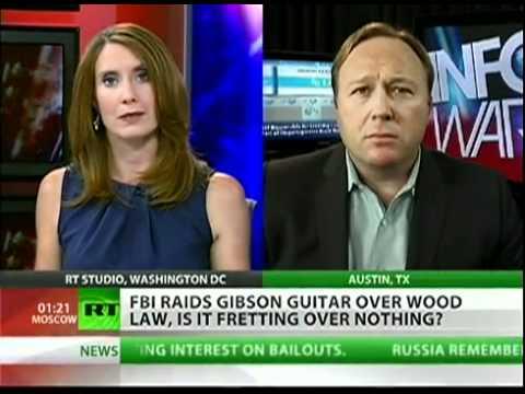 Alex Jones  'Global bureuacracy attacks American workers' 09/01/11