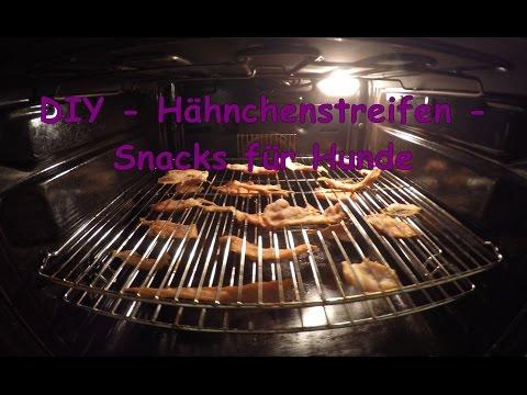 DIY Snacks für Hunde selber machen - Hähnchenstreifen - Turorial - [ dog it yourself ] [GoPro]