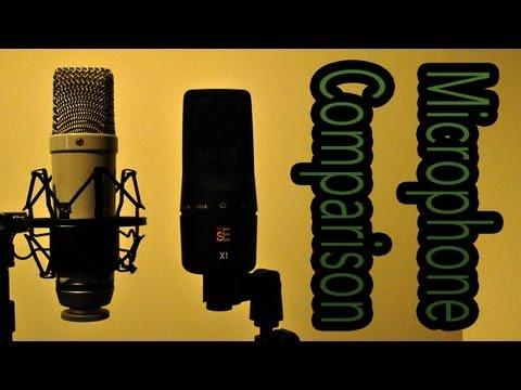 Microphone Comparison – Røde NT1 & sE Electronics X1 (Guitar & Drums) (ReUpload)